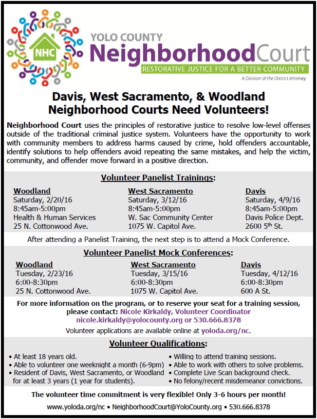 Neighborhood Court December Flyer
