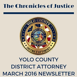 The Chronicles of Justice March 2016 Newsletter