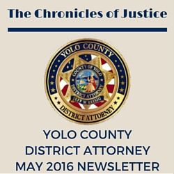 The Chronicles of Justice May 2016 Newsletter