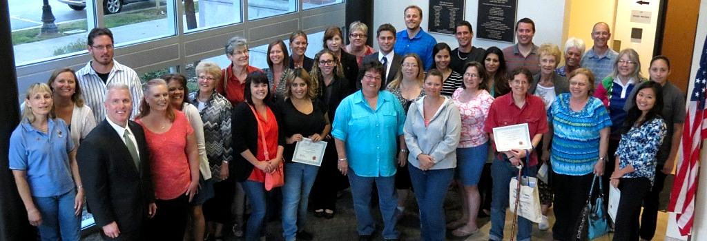 2014 Citizens Academy Graduates