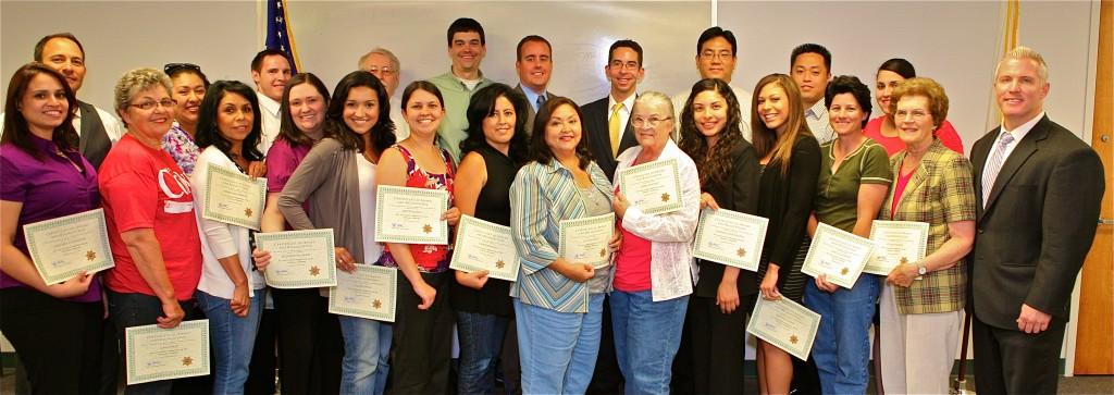 2012 Citizen Academy Graduates
