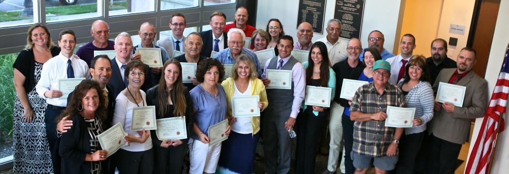 2013 Citizen Academy Graduates