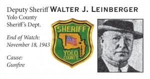Deputy Sheriff Walter Leinberger