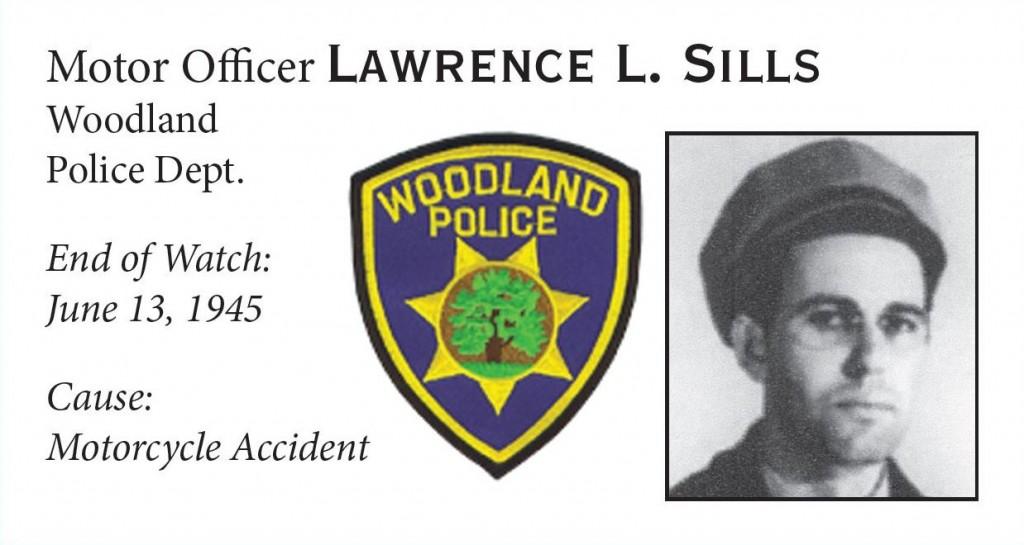 Motor Officer Lawrence Sills