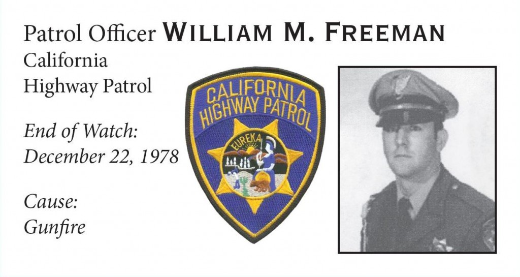 Patrol Officer William Freeman