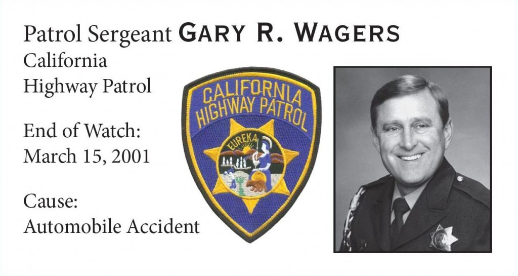 Patrol Sergeant Gary Wagers