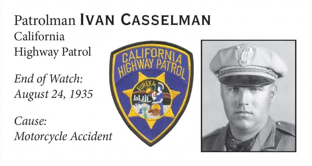 Patrolman Ivan Casselman