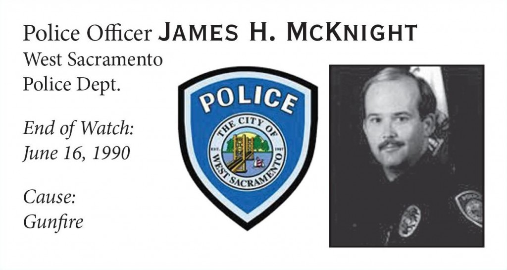 Police Officer James McKnight