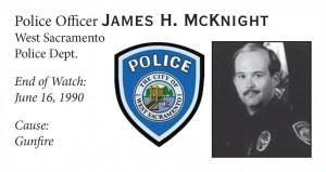 Police Officer James McKnight