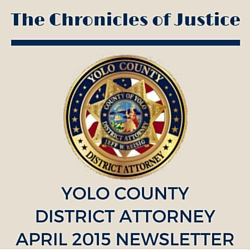 The Chronicles of Justice April 2015 Newsletter