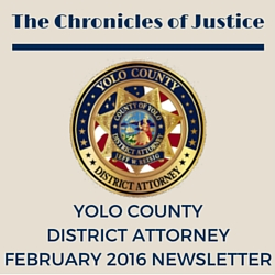 The Chronicles of Justice February 2016 Newsletter