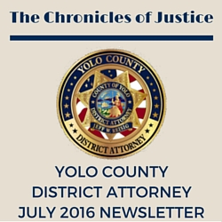The Chronicles of Justice July 2016 Newsletter