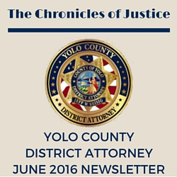 The Chronicles of Justice June 2016 Newsletter