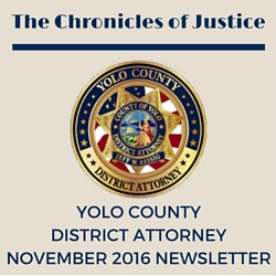 The Chronicles of Justice November 2016 Newsletter