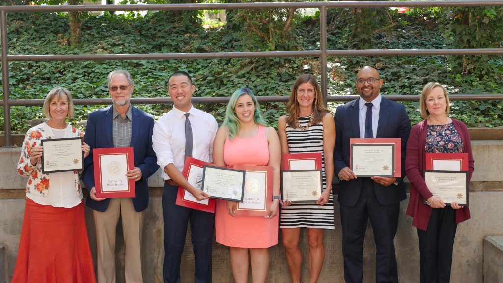 The image includes the 2018 MCCC Justice Leadership Awards Recipients