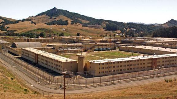 Image depicts the California Men's Colony Prison facility.