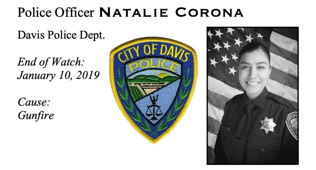 Police Officer Natalie Corona - End of Watch January 10, 2019