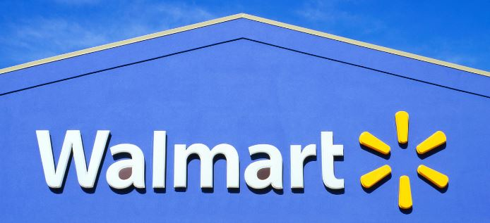 Image depicts a Walmart storefront